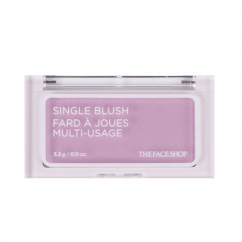 image of 韓國 the face shop 立體單色腮紅 3.3g PP01 3.3g  Korea the face shop Single Blush Fard A Joues Multi-Usage #PP01 3.3g