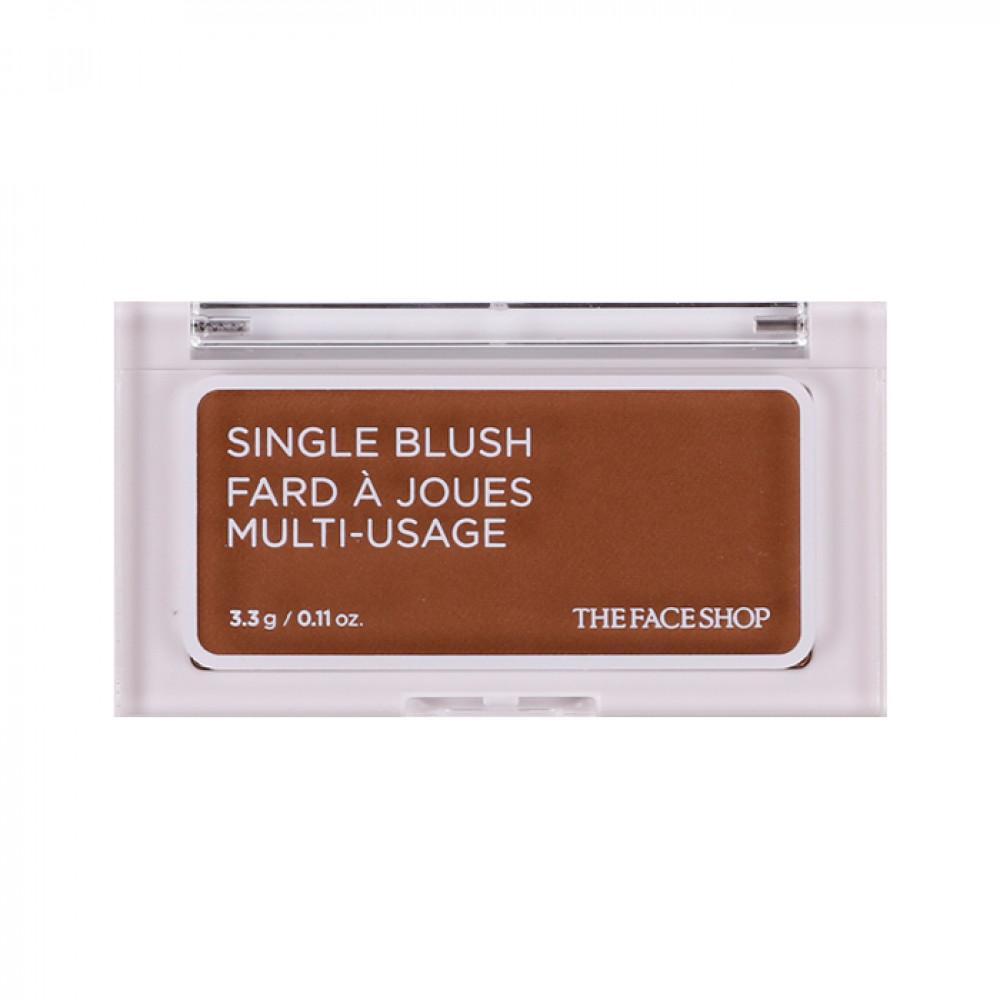 韓國 the face shop 立體單色腮紅 3.3g BR02 3.3g   Korea the face shop Single Blush Fard A Joues Multi-Usage #BR02 3.3g