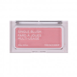 image of 韓國 the face shop 立體單色腮紅 3.3g PK01 3.3g  Korea the face shop Single Blush Fard A Joues Multi-Usage #PK01 3.3g