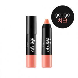 image of 韓國 Apieu go-go腮紅筆 1.5g OR01  Korea Apieu Go-Go Stick Cheek 1.5g  OR01