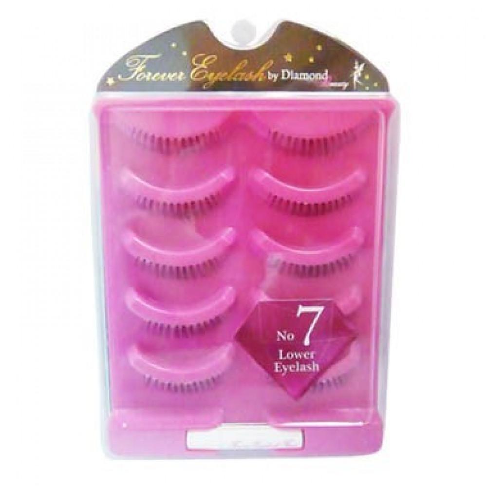 日本 Diamond Lash 假睫毛海外限定版 日模經典款 5對入 NO.NO.7(下睫毛自然娃娃)Japan  Diamond Lash Fake eyelashes No.7 Lower Eyelash