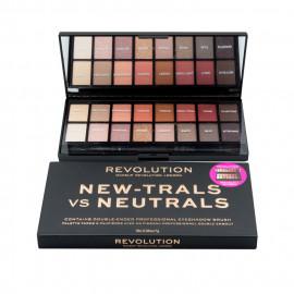 image of 英國 Makeup Revolution 16色眼影盤 經典桃花盤   United Kingdom Makeup Revolution Eyeshadow Palette