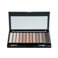 image of 英國 Makeup Revolution 12色眼影盤 經典粉棕色系  United Kingdom Makeup Revolution Redemption Eyeshadow Palette