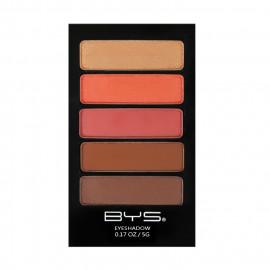 image of 澳洲 BYS 烏魯魯酷玩5色眼影盤 陽光KISS5g  Australia BYS 5 Palette Eyeshadow Set - 5g  SunKiss