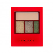 image of 日本 SHISEIDO 資生堂 INTEGRATE 線代主義光彩眼影盒 3.3g   Japan Shiseido INTEGRATE Accent Color Eyes CC Eyeshadow Palette 3.3g #.GR691
