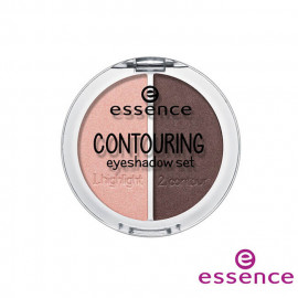 image of 德國 essence 艾森? 3D輪廓眼影? #035G  Germany Essence Contouring Eyeshadow Set 5g #03