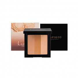 image of 韓國 Larvore 三色漸層眼影 10g 04橙花   Korea L'arvore Sunset Eyeshadow 10g #04 ORANGE BLOSSOM