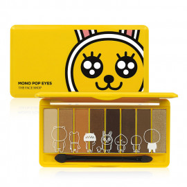 image of 韓國 The Face Shop╳KAKAO FRIENDS 全能八色眼影盤 9.5g #.DAILY MUZI 日常咖啡系  Korea The Face Shop╳KAKAO FRIENDS Eyeshadow Plate 9.5g #.DAILY MUZI