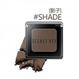 image of 韓國 Secret key 持久絲滑單色眼影 2.5g #.影子  Korea Secret key Fitting Forever Single eyeshadow 2.5g #.Shade