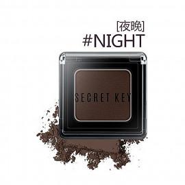 image of 韓國 Secret key 持久絲滑單色眼影 2.5g #.夜晚  Korea Secret key Fitting Forever Single eyeshadow 2.5g #.Night