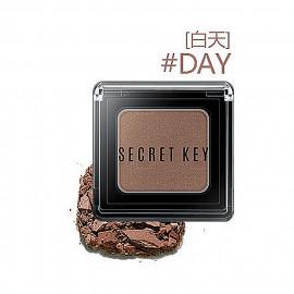 image of 韓國 Secret key 持久絲滑單色眼影 2.5g #.白天  Korea Secret key Fitting Forever Single eyeshadow 2.5g #.Day