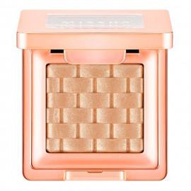 image of 韓國 MISSHA 義大利玫瑰編織紋眼影 1.5g #.12  Korea MISSHA Modern Shadow Italprism 1.5g #.12 Peach Smoothie