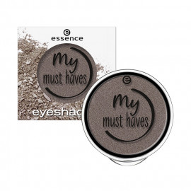 image of 德國 essence 艾森絲 閃耀眼影 1.7g #19灰色  Germany Essence My Must Haves Eyeshadow 1.7g #19 Gray Color