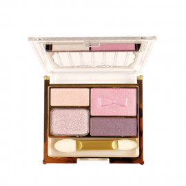 image of 日本 SWEETS SWEETS 四色亮綵眼影 02  sweets sweets Japan Shiny Dolce 4-Color Quad Eyeshadow Palette #02 Peach Ganache