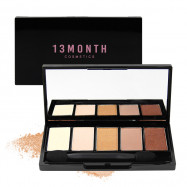 image of 韓國 13MONTH 日常深邃眼影盤 5g #杏仁黑   Korea 13 month cosmetics Eye shadow 5g #Almond Noir