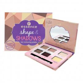 image of 德國 essence 艾森絲 百寶袋眼眉雙效彩盤 8.4g  Germany essence Shape & Shadows Eye Contouring Palette 8.4g