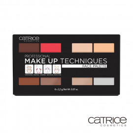 image of 德國 Catrice 多功能旅行彩妝盤  Germany Catrice Cosmetics Professional Make Up Techniques Face Palette
