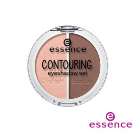 image of 德國 essence 艾森? 3D輪廓眼影? #025G  Germany Essence Contouring Eyeshadow Set 5g #02