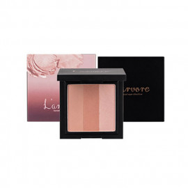 image of 韓國 Larvore 三色漸層眼影 10g 03玫瑰粉紅  Korea L'arvore Sunset Eyeshadow 10g #03 ROSE PINK