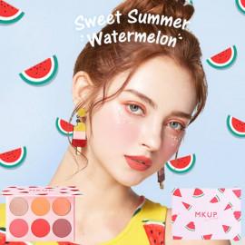 image of MKUP 美咖 西瓜糖霜眼影盤   MKUP - Sweet summer Watermelon Eyeshadow palette