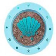 image of 韓國 Aritaum 美人魚月光閃耀單色眼影27號 Midnight oceanz   Korea Aritaum Mono Eyes Mermaid Collection Midnight Ocean #S27Midnight oceanz