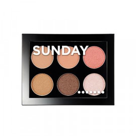image of 韓國 Aritaum 一週眼影盤 8g Sunday  Korea ARITAUM Weekly Eye Palette 8g #Sunday