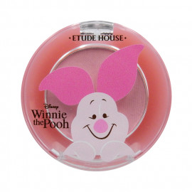 image of 韓國ETUDE HOUSE x小熊維尼聯名 單色眼影 2g PK019   Korea ETUDE HOUSE Happy with Piglet Look at My Eyes Shadow 2g #PK019 Jewel Soft Pink