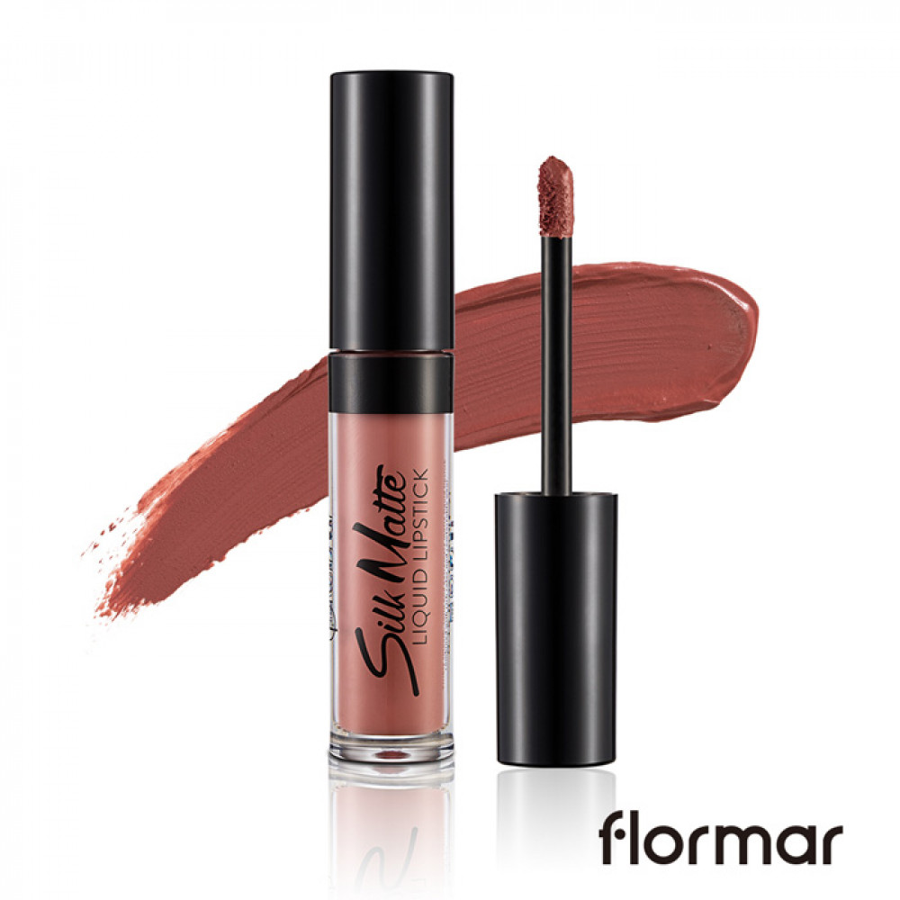 法國 Flormar 絲絨霧面唇釉 4.5mL #.002 乾燥玫瑰花 France Flormar Silk Matte Liquid Lipstick 4.5mL #.002 Fall Rose
