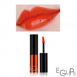 image of 韓國 Eglips 超顯色Q彈水潤持久唇露 3.5g #.01 POP ORANGE  Korea Eglips Water Rich Tint 3.5g #.01 POP ORANGE