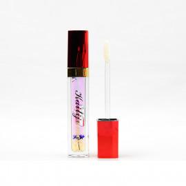 image of Kaili Jumei 花瓣變色唇蜜 新光款 6g #.6晶瑩紫  Kaili Jumei Lipstick Double Deck Matte 6g #.6