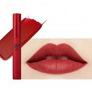 image of 韓國 CLIO 天鵝絨霧面唇釉(2018春夏限定) 01 娜塔莉紅4.5ml   Korea CLIO - Mad Matte Tint # 01 Natalie Red  4.5ml