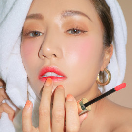 image of 韓國 3CE x Take A Layer 夏日水潤唇釉 Fig Pink5.2g   Korea 3CE x Take A Layer Tinted Water Tint LipStick #Fig Pink 5.2g