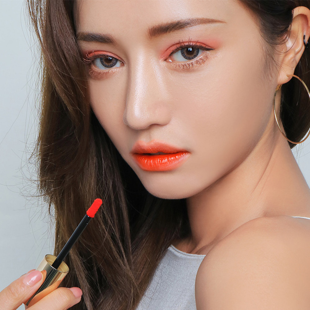 韓國 3CE x Take A Layer 夏日水潤唇釉 Most Orange5.2g  Korea 3CE x Take A Layer Tinted Water Tint LipStick #Most Orange 5.2g
