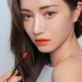 image of 韓國 3CE x Take A Layer 夏日水潤唇釉 Most Orange5.2g  Korea 3CE x Take A Layer Tinted Water Tint LipStick #Most Orange 5.2g