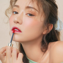 image of 韓國 3CE x Take A Layer 夏日水潤唇釉 Inside Mauve5.2g  Korea 3CE x Take A Layer Tinted Water Tint LipStick #Inside Mauve 5.2g