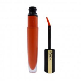 image of LOREAL 巴黎萊雅 持色印記空氣吻唇露 7ml 112佔有  L'Oreal Paris Rouge Signature Matte Ink Lipstick 7ml #112 I ACHIEVE