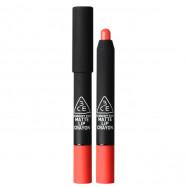 image of 韓國 3CE(3CONCEPT EYES) 霧面感愛塗鴉唇彩蠟筆 2.9g #.PEEKABOO!  Korea 3CE(3CONCEPT EYES) Stylenanda Matte Lip Crayon 2.9g #.PEEKABOO!