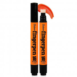 image of 韓國 16brand╳FINGERPEN 一筆搞定唇頰彩 5mL #.FA03 ORANGE  Korea 16brand╳FINGERPEN  5mL #.FA03 ORANGE