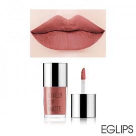 image of 韓國 Eglips 香氛絲絨保濕霧色唇釉 5g LM005氣質名媛  Korea Eglips Lively Lip Matte 5g #LM005 Pretty Nudy Matte