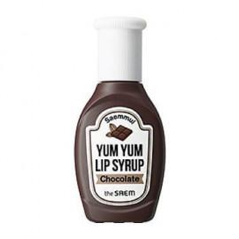 image of 韓國 the saem YUM YUM 蜜糖唇釉 01巧克力(磚紅)10g   Korea The Saem Saemmul Yum Yum Lip Syrup 10g #01 Chocolate