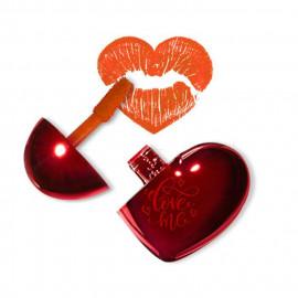 image of 韓國 the saem 心形持久顯色唇釉 02.Love Catcher   Korea The Saem Love Me Coating Tint #02.Love Catcher