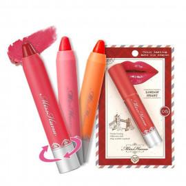 image of Miss Hana 花娜小姐 水潤持色旋轉唇筆4g  Miss Hana Color Lasting Auto Lip Crayon 4g