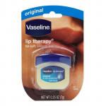 美國 Vaseline 凡士林 潤唇膏(Q版瓶裝) 7g #.原味  United States  Vaseline Lip Therapy 7g #.Original