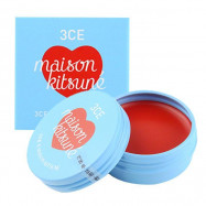 image of 韓國 3CE (3CONCEPT EYES) x Maison Kitsune小狐狸 聯名彩妝 潤色護唇膏 9g #.ROSE SWEETS  Korea 3CE (3CONCEPT EYES) x Maison Kitsune Lip Balm 9g #.ROSE SWEETS