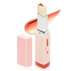 image of 韓國 LANEIGE 蘭芝 超放電晶潤雙色唇膏 2g #.02 Tangerine Slice 橘醬夾心   Korea LANEIGE Two Tone Tint Lip Bar 2g #.02 Tangerine Slice