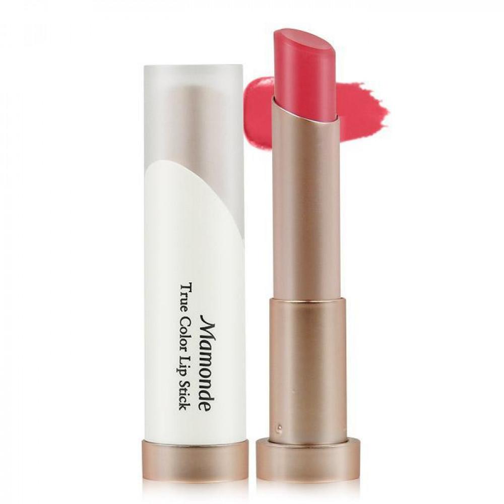 韓國 Mamonde 秋暮玫瑰真實之吻唇膏 3.5g #.01   Korea Mamonde True Color Lip Stick 3.5g #.01