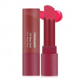image of 韓國 Mamonde 精油光澤唇膏 乙支入 #.01 Enamel Cherry  Korea Mamonde Oil Shine Stick #.01 Enamel Cherry