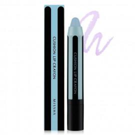image of 韓國 MISSHA 奶油咬唇膏 乙支入 #.BPK01 Twist Blue(變色款)  Korea MISSHA Cushion Lip Crayon #.BPK01 Twist Blue