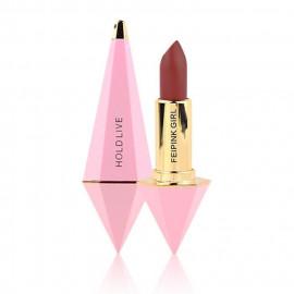 image of 台灣 KIDO 奇朵 絲絨唇膏 3.8g #.04復古紅   Taiwan KIDO HOLD LIVE Feipink Girl Diamond Lipstick 3.8g #.04 retro red