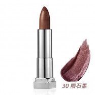 image of MAYBELLINE 媚比琳 極綻色金屬霧光唇膏30隕石黑 3.9g  MAYBELLINE New York Color Sensational Matte Metallic Lipstick 3.9g #30 Molten Bronze